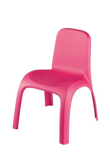 Krzesełko różowe