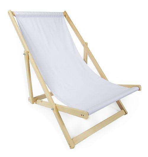 Leżak biały