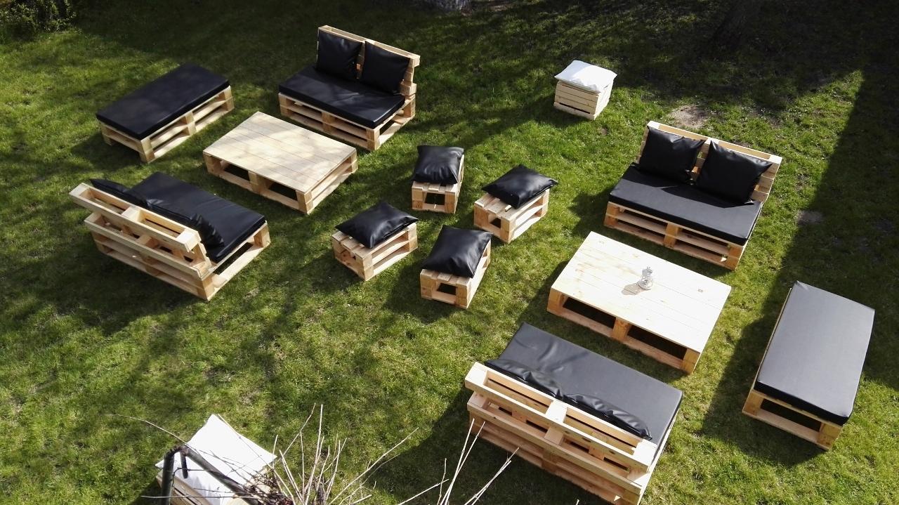 Majówka 2017 - Aranżacja mebli w ogrodzie