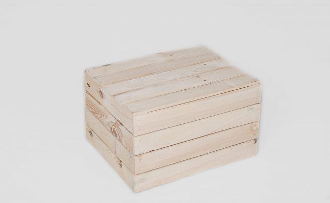 Stół skrzynka naturalny