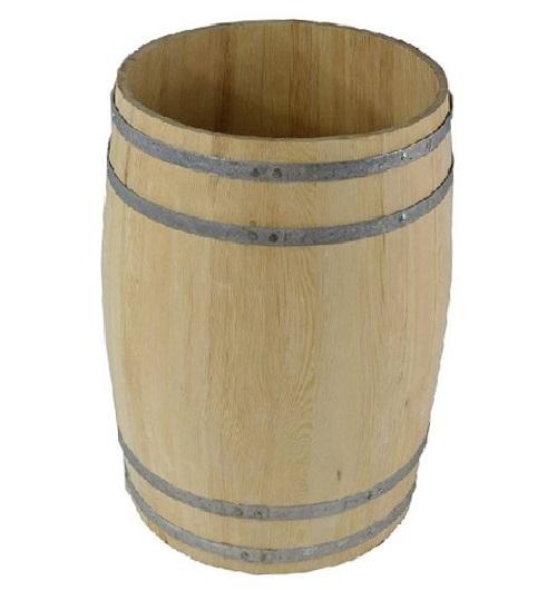 solidna beczka drewniana