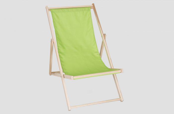 Leżak zielony